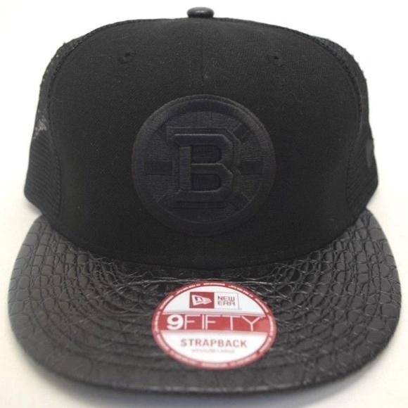 162d7b9fe93 Men´s New Era Boston Bruins 9Fifty Sz M L Cap
